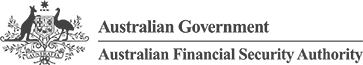 Logo for the Australian Financial Security Authority